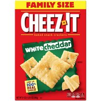 Kellogg's Cheez It White Cheddar Cheese Baked Snack Crackers, 21 Ounce