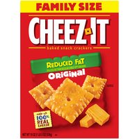 Kellogg's Cheez It Reduced Fat Cheese Baked Snack Crackers, 19 Ounce