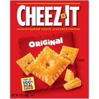 Kellogg's Cheez It Cheese Baked Snack Crackers, 7 Ounce