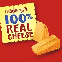 12 - 1 oz. packages. Baked snack crackers.  Made with 100% Real cheese.