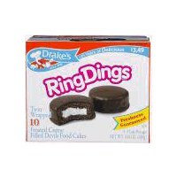 Drake's Ring Dings, 13.5 Ounce