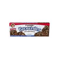 Little Debbie Fudge Brownies with English Walnuts - 6 pk, 13 Ounce