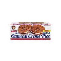 Little Debbie Big Pack Oatmeal Creme Pies - 12 ct, 31.78 Ounce