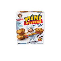 Little Debbie Muffins - Chocolate Chip, 8.27 Ounce