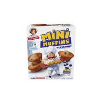 Little Debbie Little Muffins Blueberry, 8.27 Ounce