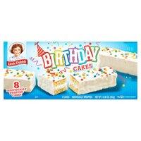 Little Debbie Birthday Cakes, 12.39 Ounce