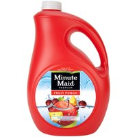 Mix things up. Minute Maid Fruit Punch combines a number of delectable fruit flavors together in a refreshing, delicious blend that's made with real fruit juice.
