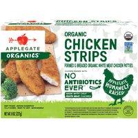 Applegate Organic Chicken Strips (Frozen), 8 Ounce