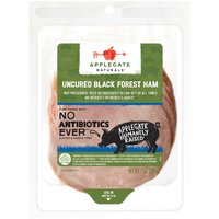 Applegate Natural Uncured Black Forest Ham, 7 Ounce