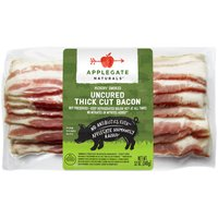 Applegate Naturals Applegate Naturals Uncured Thick Cut Bacon, 12 Ounce