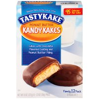 Tastykake Peanut Butter Kandy Kakes, 8 Ounce