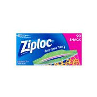 Ziploc Snack Bags, 90 Each