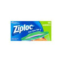 Whether you've got a big double-decker sandwich or a skinny PB&J, Ziploc brand Sandwich Bags are perfect for packing up the sandwiches.