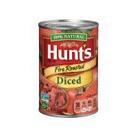 Hunt's Fire Roasted Diced Tomatoes, 14.5 Ounce