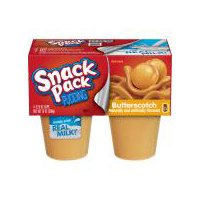 Snack Pack Pudding Butter Scotch, 13 Ounce