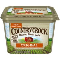Country Crock Original Buttery Spread has a delicious country fresh taste made from real, simple ingredients your whole family will enjoy.