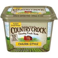 Country Crock Buttery Spread Churn Style, 45 Ounce