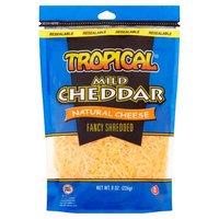 Tropical Cheddar Cheese - Sharp, 8 Ounce