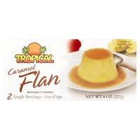 Tropical Caramel Flan, 8 Ounce