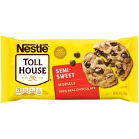 Nestle Toll House Chocolate Morsels - Semi-Sweet, 12 Ounce