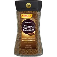 NESCAFE TASTER'S CHOICE French Roast Instant Coffee, 7 Ounce