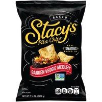 Stacy's Pita Crisps Garden Veggie Medley, 7.33 Ounce