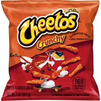Cheetos Crunchy Cheese Flavored Snacks, 1 Ounce