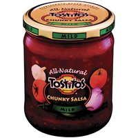 Tostitos Chunky Mild Salsa Jar, 15.5 Ounce