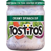 Tostitos Dip - Creamy Spinach, 15 Ounce
