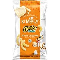 Cheetos Cheetos Simply Puffs White Cheddar Cheese, 8 Ounce