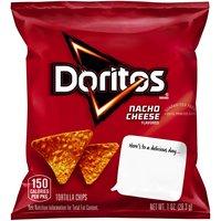 Doritos Tortilla Chips - Nacho Cheese, 1 Ounce