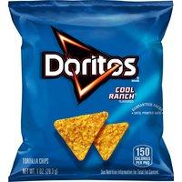 Doritos Tortilla Chips - Cool Ranch, 1 Ounce
