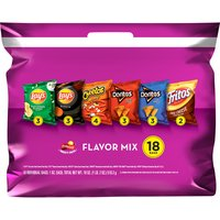 Frito-Lay Flavor Mix Chips Variety Pack, 18 Each