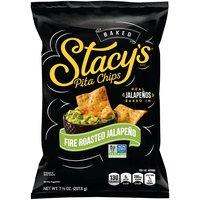 Stacy's Fire Roasted Jalapeno Pita Chips, 7.33 Ounce