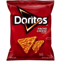 Delicious Doritos crunch makes this an awesome snack. Chips with great nacho cheese flavor go with any meal. Crunchy chips and boldness make Doritos snacks awesome.