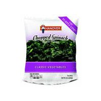 Hanover Chopped Spinach, 10 Ounce