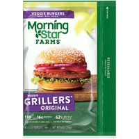MorningStar Farms Grillers Original Burgers, 9 Ounce