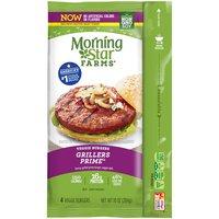 MorningStar Farms Grillers - Prime Burgers, 10 Ounce