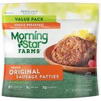 MorningStar Farms Breakfast Original Sausage Patties, 16 Ounce