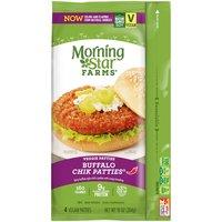 MorningStar Farms Buffalo Chik Patties, 10 Ounce