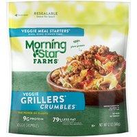 Savory veggie ground beef alternative for-resealabel pack
