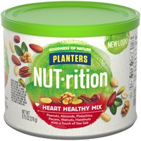 Planters Planters Nutrition Mix - Heart Healthy, 9.75 Ounce
