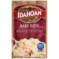 Idahoan Mashed Potatoes - Flavored Baby Reds, 4.1 Ounce