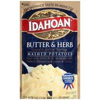 Idahoan Mashed Potatoes - Butter & Herb, 4 Ounce