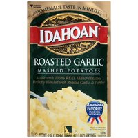 Idahoan Mashed Potatoes - Roasted Garlic, 4 Ounce