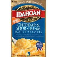 Idahoan Cheddar & Sour Cream Mashed Potatoes, 4 Ounce