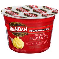Idahoan Buttery Homestyle Mashed Potatoes Cup, 1.5 Ounce