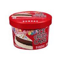 Friendly's Ice Cream Cake Sundae, 6 Fluid ounce