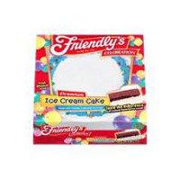 Friendly's Ice Cream Cake - Vanilla & Chocolate, 60 Ounce