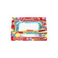 Friendly's Ice Cream Cake - Vanilla & Chocolate, 80 Ounce